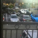 Police at hotel