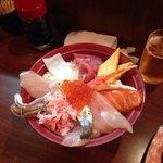 海鮮丼  うまかった
