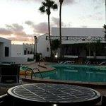 smaller pool then in website pics