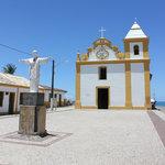 Arraial d'Ajuda famous church