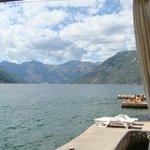 baie de Kotor depuis l'hôtel