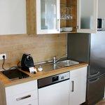 ausgestattete Küchen