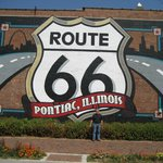 Ropute 66 Sign, Pontiac