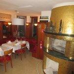 Kaminlounge im Albergo - Rest. Vinsens