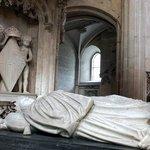 Détail du tombeau de Marguerite d'Autriche