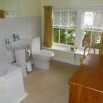 Ensuite bathroom- with shower over bath