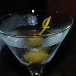 Awesome gin martini
