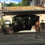 Entrance to Le Patio
