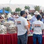 Distribution de chapeau de paille