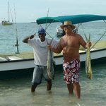 Fishing with the locals is so awesome