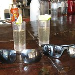 Tequila Shots at the Tortuga Beach Bar