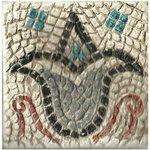 Muestra de mosaico del yacimiento arqueológico