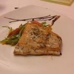Salmon / Teriyaki Vegeatbles.