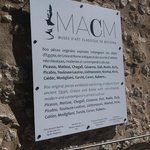 Wall Plague Musee d'Art Classique de Mougins