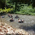 River Tubing down the White River