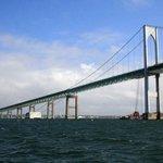 Newport Bridge from the Majestic