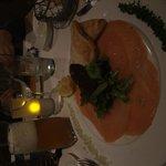 entrée saumon
