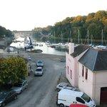 Sortie du port de St-Goustan