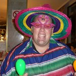 Tom - Entertainment team member on the Mexican theme night