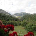 Vistas Picos de Europa desde la habitación