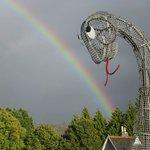 Nessie and rainbow
