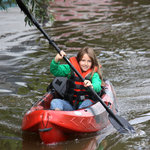 come kayaking, suitable for whole family