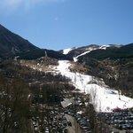 pista de esquí a 25km
