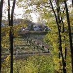 Vue vers le Petit Villandry  en automne