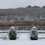 Le Petit Villandry sous la neige
