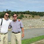 Visiting Messini with Nik