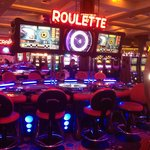 I love the Roulette tables!