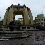 Арка на площади