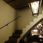 Kitchen stairs
