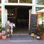 Eingangsbereich Restaurant Portofino