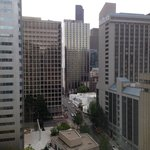 View from 18th floor room.