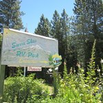 The Entrance to Sierra Skies RV Park