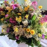 composizione coi nostri fiori