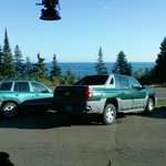 View from our table- Lake Superior on Hwy. 61