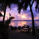 Sunset at Castaway Resort