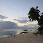 Beach at Castaway Resort