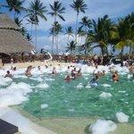 Pool foam party