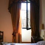 ventanal de la habitación