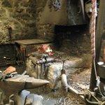 Invisable blacksmith at work