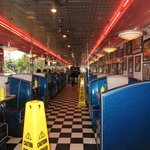 Feels like a real 1950's diner