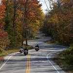 Fall ride on the peninsula