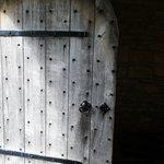 A door at Pickering Castle