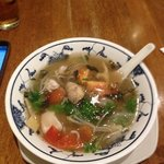 Vietnamese hot and sour soup - tasty!