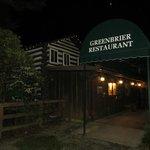Greenbrier at night