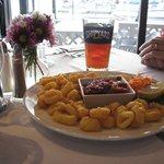 A wonderful Calamari appetizer