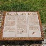 Explicación de CONACULTA de Kinich Kak Moo